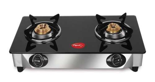 Pigeon By Stovekraft Favourite 2-Burner Glass Top Gas Stove